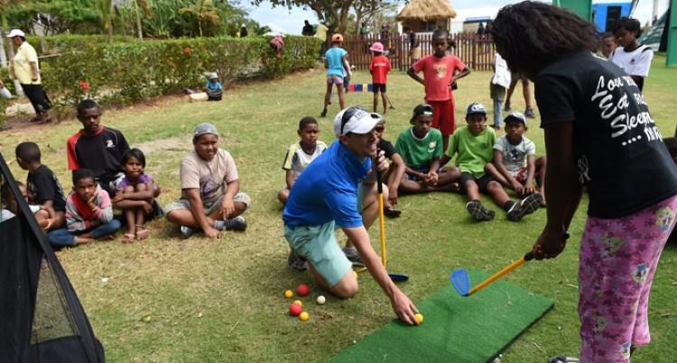 Growing Golf In Fiji Through Schools