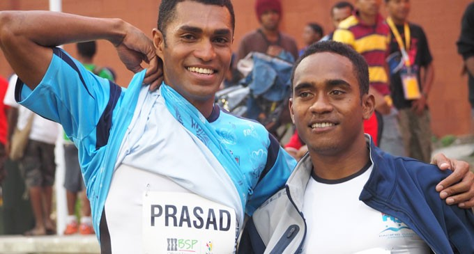 Prasad, Kalouniviti Win Medals