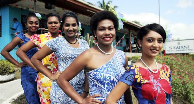 Queen Contestants Visit Sawani Community Post