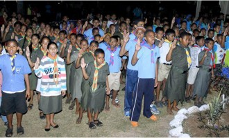 Reddy Rallies Scouts