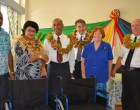 Minister Hands Over Wheelchairs