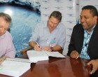 Waf Signs Contract To Improve Wastewater