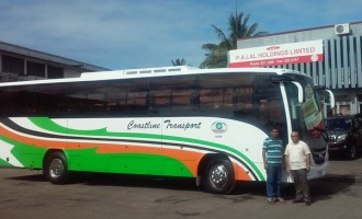 First Luxury Coach For Sigatoka Town