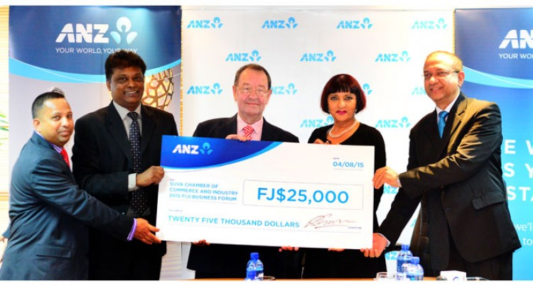 ANZ Provides $25,000 For Business Forum