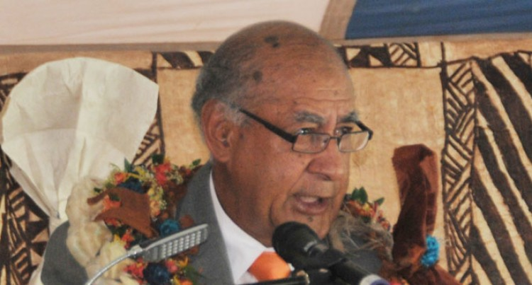 Ratu Epeli Lauds Timely Event