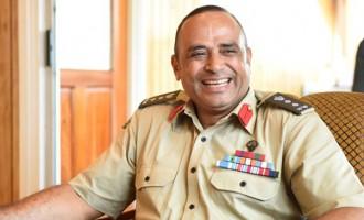Colonel Qiliho Off To Study In Australia