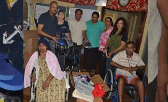 Ex-Labasa Resident Gives To The Elderly