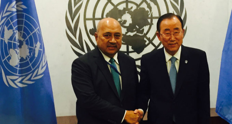 Ratu Inoke Talks Climate Change At UN