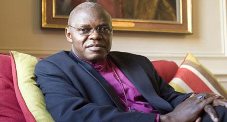 Archbishop Of York Here, Flies To Tonga Today