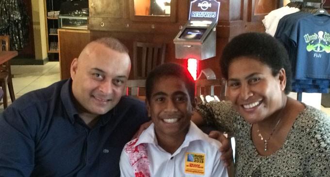 Manueli, Fiji's Rugby Ambassador