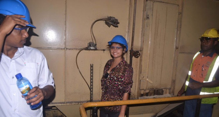 Contestants Visit Labasa Sugar Mill