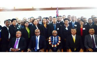 Tikoitoga Starts Diplomatic Training