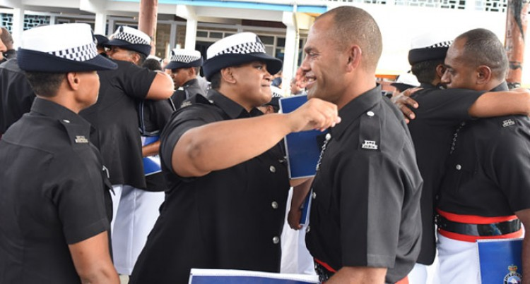 Police Recruits Warned