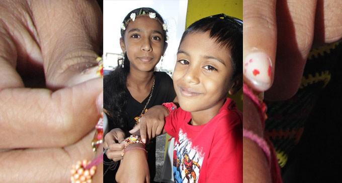 Hindus Here Celebrate Raksha Bandhan