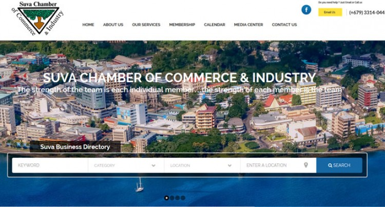 New Website For Suva Chamber Of Commerce Launched