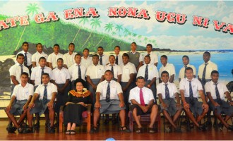 Dr Luveni Meets RKS Students