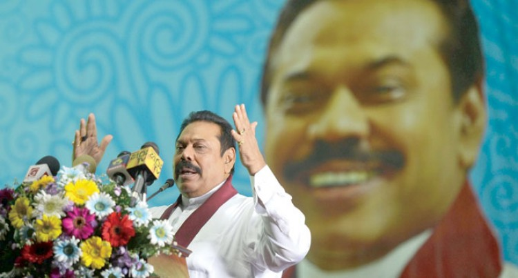 Stakes High For Mahinda Rajapaksa As Sri Lanka Botes
