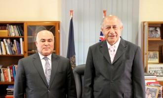 Iraqi Ambassador Presents Credentials To The President