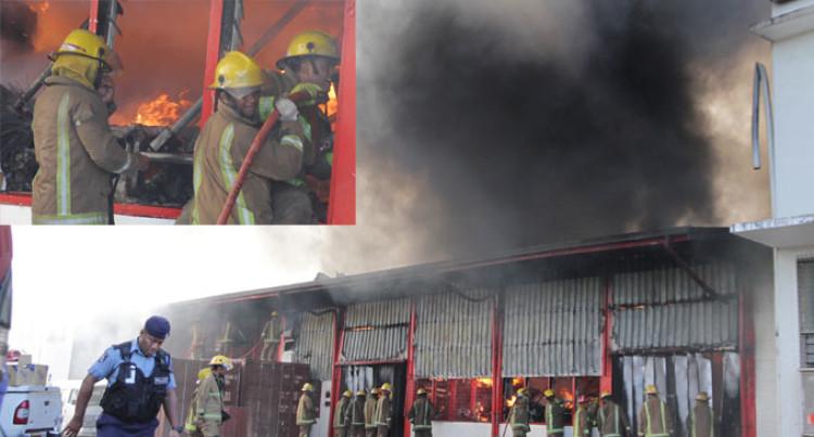 60 Fight, Put Out Vatuwaqa Blaze