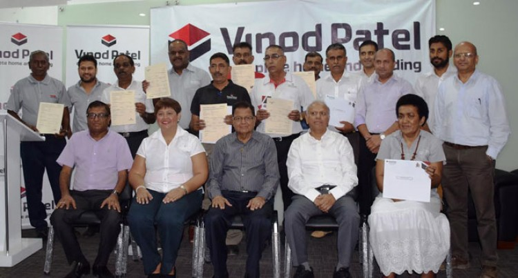 Vinod Patel Launches Policy For Staff