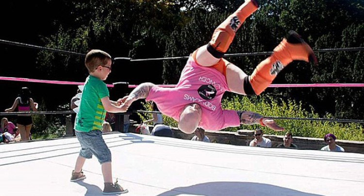 Six-Year-Old with Half-A-Heart Achieves Dream of Becoming a Wrestler