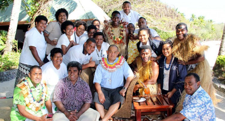 Archbishop Chong Makes First Visit  To Yasawa