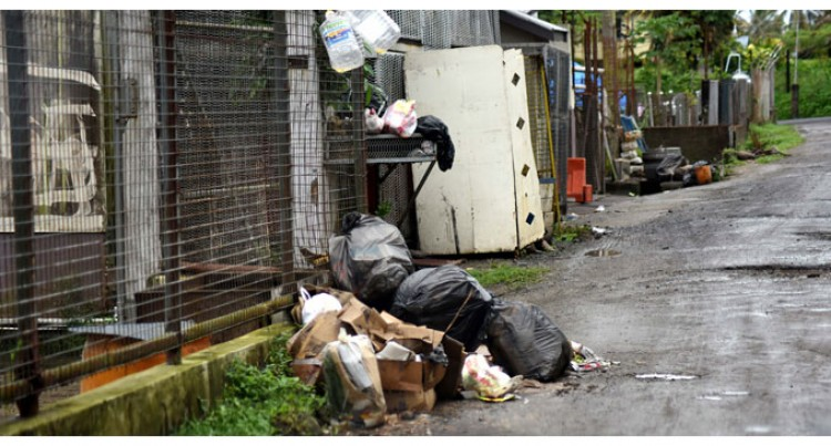 Eyesore: Rubbish Piles On Lami Roads