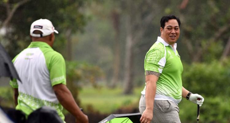 Tongan Prince Tees Off