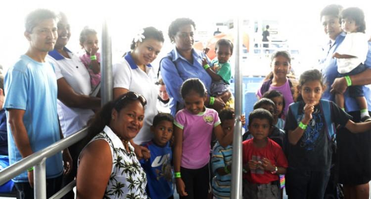St Mina Home Kids Get VIP Treat