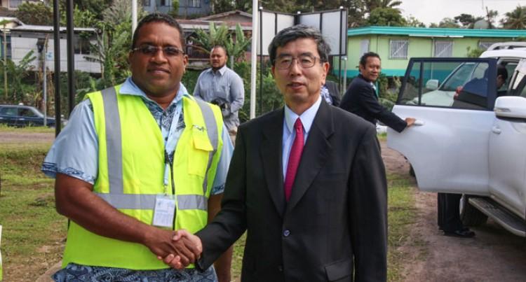 ADB President Visits Kinoya Plant
