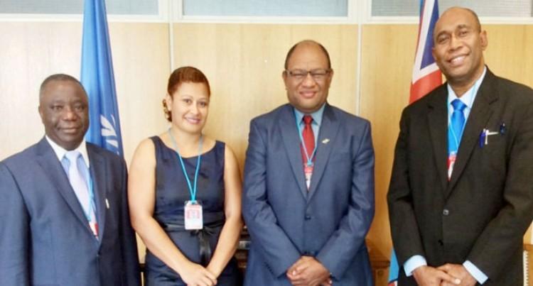 Minister Naiqamu Attends Global Science Forum