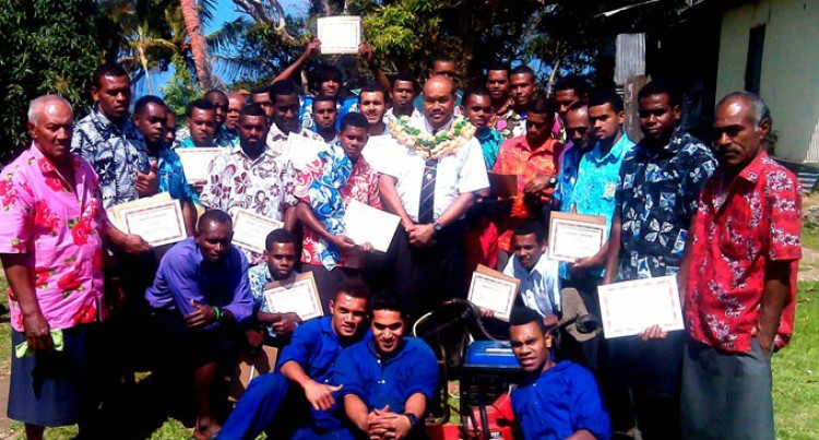 Small engine repairs for Namara youths