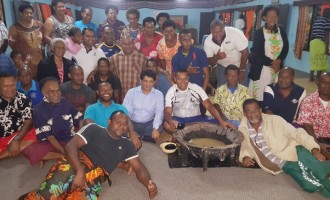 Yadua Villagers Meet Acting PM