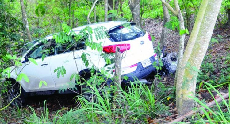 Driver In Hospital After Car Crash