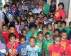FNU's Pre-School Children Visit Fiji Sun