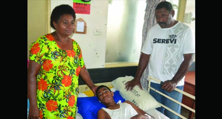 Boy Recovers Well At Hospital