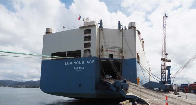 First Port Call to Fiji for MV Luminous Ace