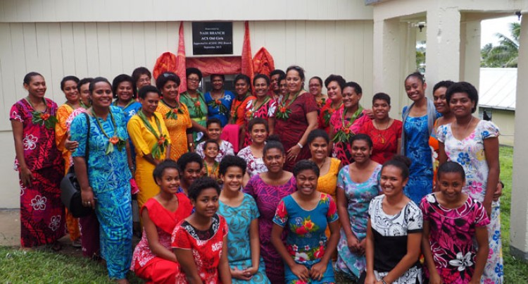 Adi Cakobau School Opens New Laundry