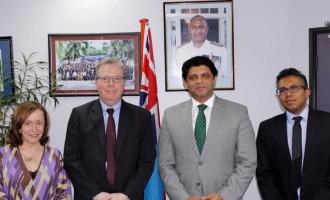 Fiji And UNDP Expand Regional Co-operation