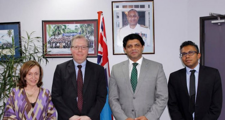 Fiji And UNDP Expand Regional Co-operation