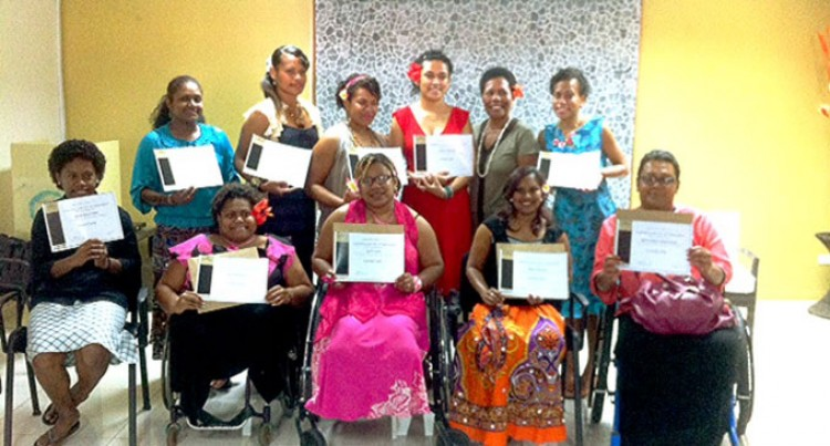 Debra Sandranu Organises  Manicure Training For  Women With Disabilities