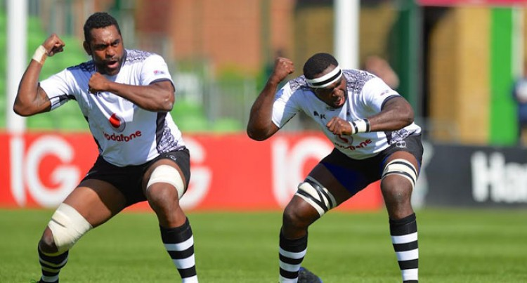 Fijians Focus On England