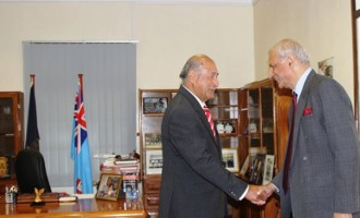 President Receives Commonwealth Secretary-General
