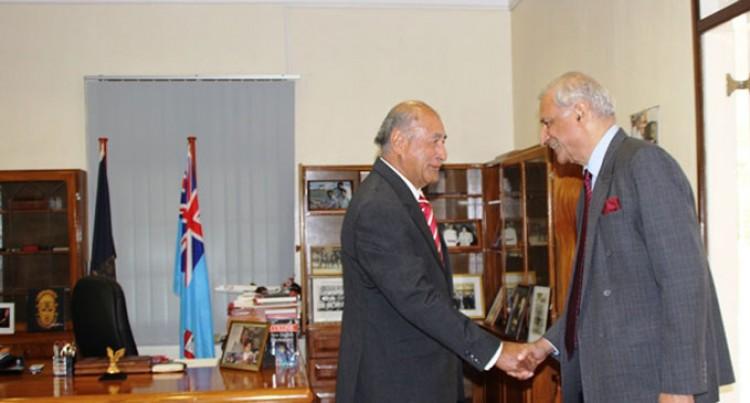 President Receives Commonwealth Secretary-General