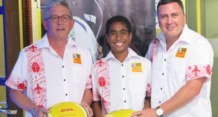 DHL Fiji Farewell Manueli Rauqeuqe