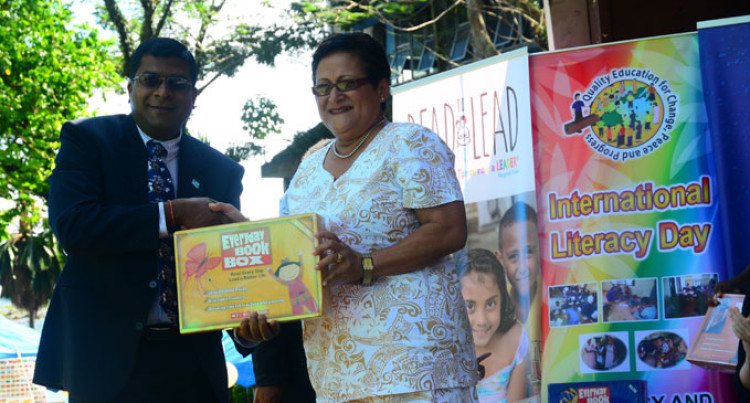 Minister Reddy Urges Fijians To Read