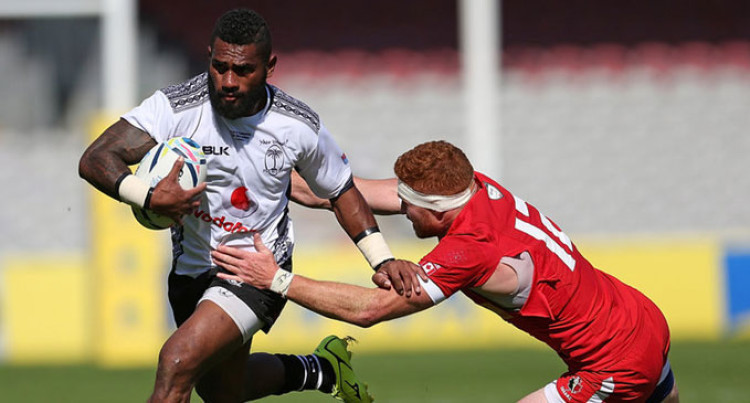 Matawalu Warns England  Of Fiji's RWC Upset Plans
