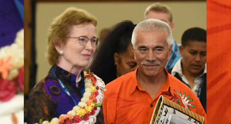 Robinson To Help Pacific Leaders