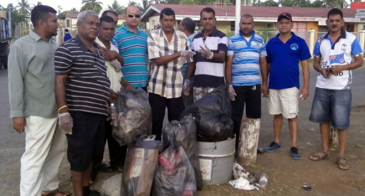 Labasa Town Council, Public Clean Up Subrail Park