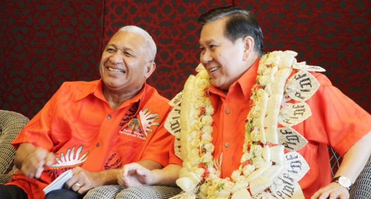 Bainimarama To Abbott: Our Survival Before Coal
